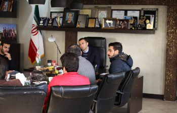 Visit of directors and professors of Food Industries Department of Ferdowsi University of Mashhad